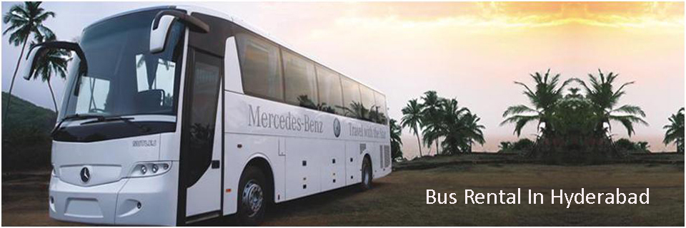 Buses Rentals In Hyderabad